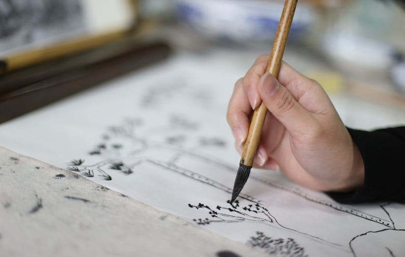 traditional chinese painting BLCC