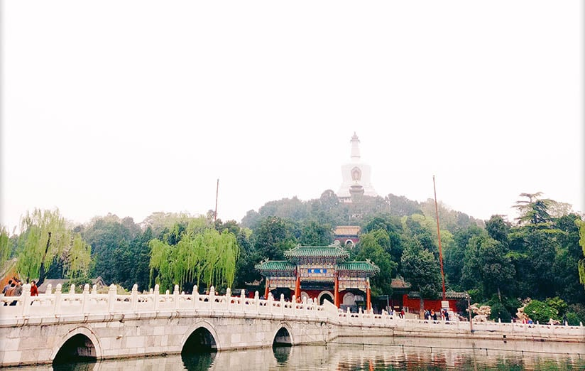 A Sweater-Weather Morning in Beihai Park
