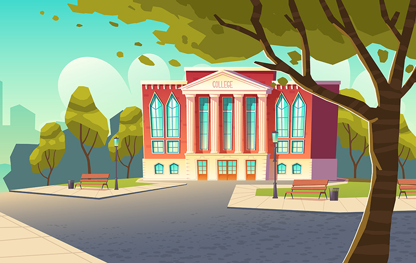 Animated College