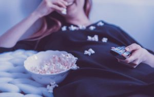 Watching Movie Image