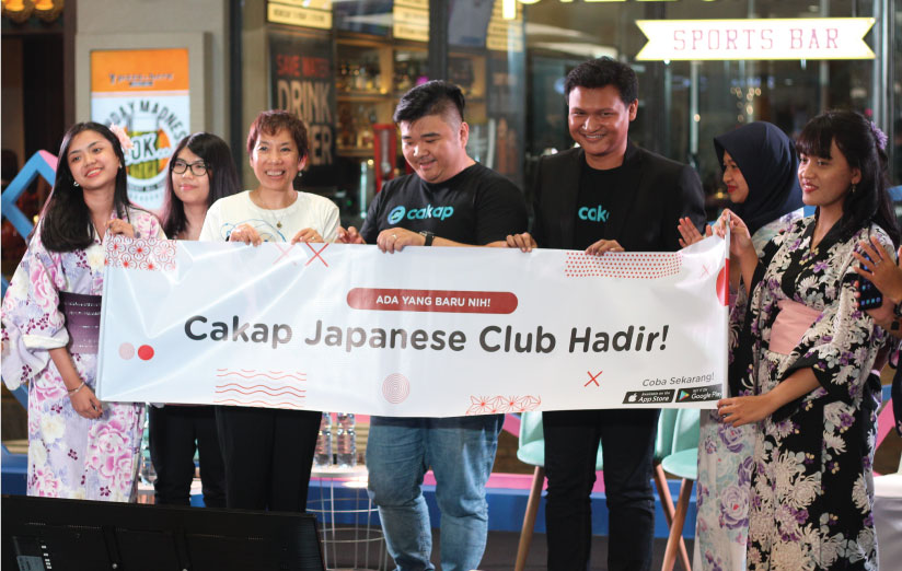 Launching Cakap Japanese Club