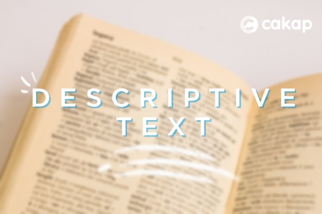 text descriptive